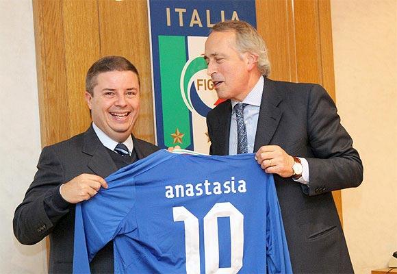 Governador vai à Itália para reforçar importância de Minas durante a Copa de 2014 - Foto Agência Minas